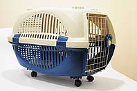 Переноска  для животных на колесах Foshan PAW 30 (металлическая дверь)  (39*39*58см)