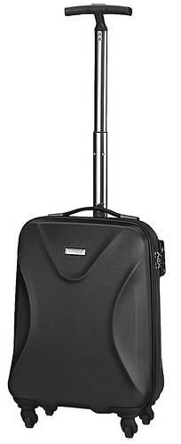 4-колесный прочный малый чемодан 40 л. MARCH TWIST 0053/07 черный