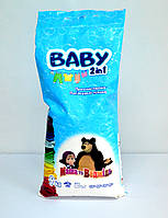 Baby Порошок 2в1 для стирки детской одежды 9 кг (пакет)
