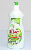 Средство для мытья посуды Bunny 520 мл. яблоко + глицерин.