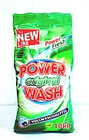 Power Wash Порошок Original 10кг. зел. (105 стирок) (пакет)