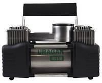 Компрессор автомобильный Uragan Ураган 90170 Двухпоршневой 82л/мин 10.0 Атм Питание от клемм + Сумка в комплекте