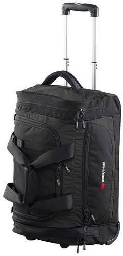 Замечательная дорожная сумка 46 л. на 2-ох колесах тканевая Caribee Scarecrow DX 46 Black, 922332 черный