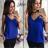 Блузка-майка из шелка разные цвета MIL111
