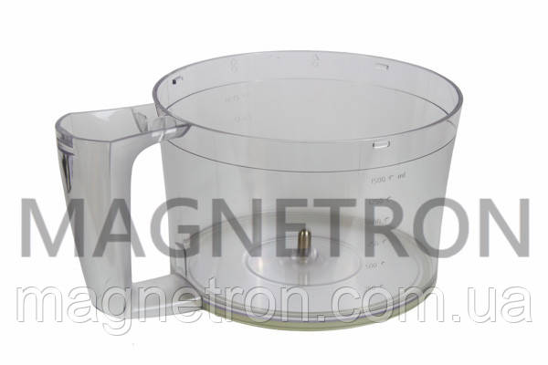 Чаша основная 1500ml CRP558/01 для кухонных комбайнов Philips 420306564690, фото 2
