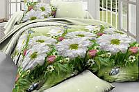 Двуспальный набор постельного белья Ранфорс №173