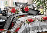 Двуспальный набор постельного белья Ранфорс №174