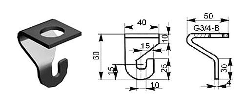 держатель светильника у25му3 вес изображение