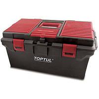 """Ящик для инструмента пластиковый 4 секции """"TOPTUL"""""""