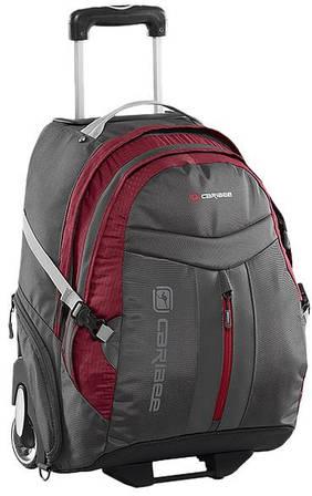 Чудесная дорожная сумка-рюкзак 35 л. Caribee Time Traveller 35 Red/Charcoal, 922338 красный/черный