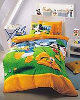 Детское постельное бельё ТАС Mickey Garden( Микки Гарден)