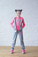 Костюм спортивный детский на девочку, юниор, фото 1