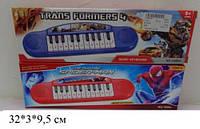 Детское электронное пианино 1689H/J Transformers/Spiderman (2 вида)