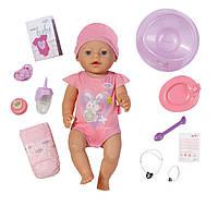 Интерактивная кукла пупс девочка Беби борн оригинальный Zapf Creation BABY born Interactive Doll