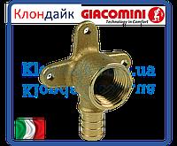 Угол обжимной монтажный Giacoqest 3/4х3/4 в