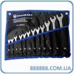 Набор ключей комбинированных 12 ед. (6-14,17,19,22) NKK12STE-S Стандарт