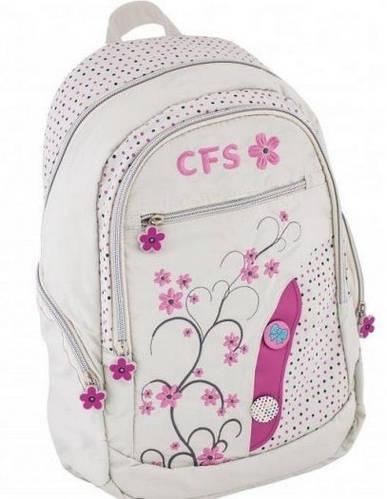 """Нежный рюкзак для города девушкам 12+ CFS 15,5"""", """"Sprig"""" CF85407 белый"""