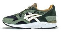Мужские кроссовки Asics Gel Lyte V (асикс гель) зеленые