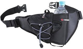 Прекрасная поясная сумка 3 л. нейлон Caribee Quick Shot, 922357 черный