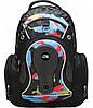 """Необычный мужской городской рюкзак CFS 17"""", Pixel CF85690 черный/разноцвет"""