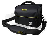Сумка - чехол  для фотоаппаратов Nikon D. Полуспортивная, удобная сумка. Компактная сумка. Код: КЕ531