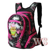 Стильный рюкзак для девочки в школу