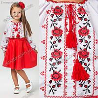Детская вышиванка крестиком Оксаночка
