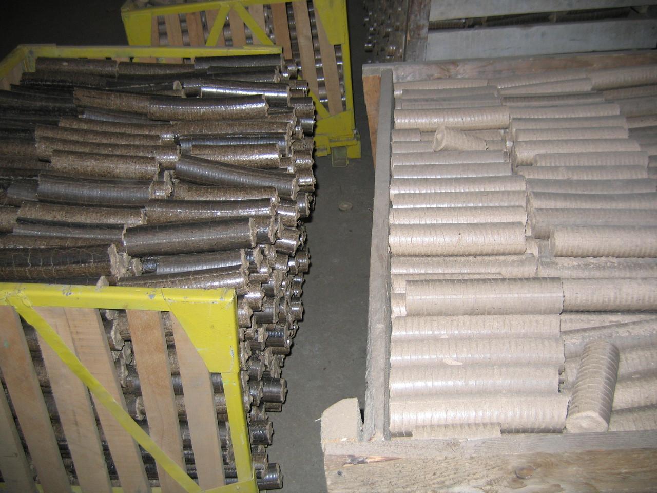 Линия по производству брикетов своими руками