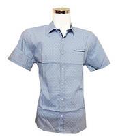 Рубашка мужская, приталенный крой Батал , фото 1