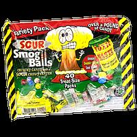 Самые кислые конфеты в мире - Toxic Waste  mystery flavor