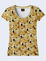 Прикольная женская футболка Лайка мем с модным молодежным рисунком XS