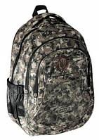 """Модный мальчуковый рюкзак для школы и города CFS 17"""", """"Khaki"""" 830 CF85621 хаки"""