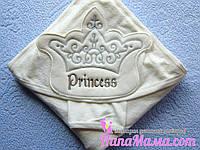 Детское полотенце - уголок махра Princess, Турция