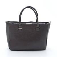 Стильная классическая женская сумка из качественной экокожи сумочка жіноча B.Elit 05-54 матовая коричневая