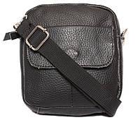 Мужская кожаная сумочка с креплением для ремня