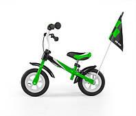 7021 Беговел Dragon Delux з надувными колесами (зелений(Green))