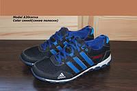 Летние мужские кроссовки Adidas, кожа+сетка разные цвета размеры 40 41 42 43 44 45