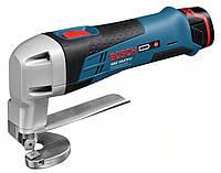 Аккумуляторные ножницы по металлу Bosch GSC 10,8 V-LI (L-BOXX)