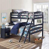Двухъярусная кровать «Твайс» с широким спальным местом
