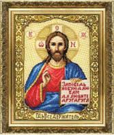 Набор для вышивания крестом Икона Иисуса Христа