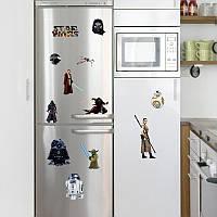 Наклейка виниловая Звёздные войны 3D декор