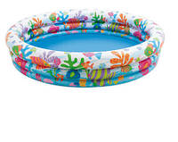 Бассейн детский надувной Тропические рыбки Intex 59431