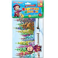 Набор для творчества с мягкими наклейками Картина маслом Vladi Toys VT 4206-13