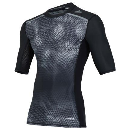 Adidas - Футболка Techfit Chill GFX (короткий рукав, SS16) - картинка 1