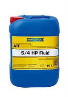 Масло трансмиссионное Ravenol ATF 5/4 HP Fluid 10л