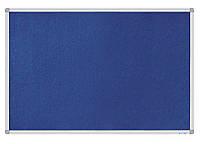 Доска текстильная, 60x90см, алюминиевая рамка