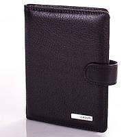 Мужская черная кожаная обложка для водительских прав KARYA (КАРИЯ) SHI438-2FL