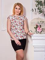 Элегантная женская блуза с рюшами