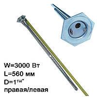 ТЭН для чугунного радиатора БАТАРЕИ 3000 w