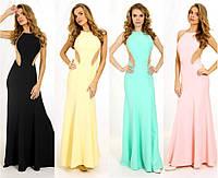 Элегантное вечернее платье с открытой спиной G0793 (р.42-46)